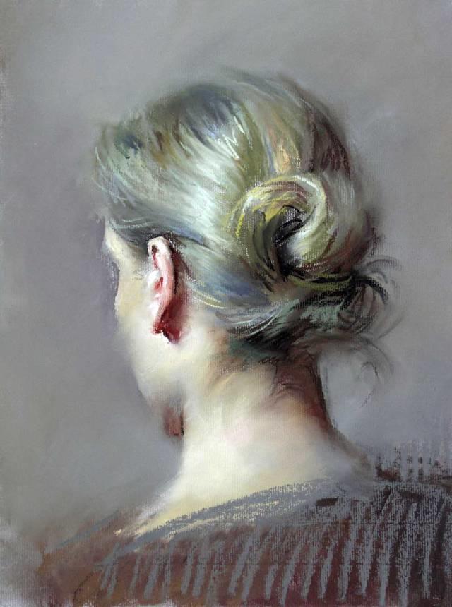 粉彩之美,西班牙艺术家桑塔曼斯的绘画作品插图37
