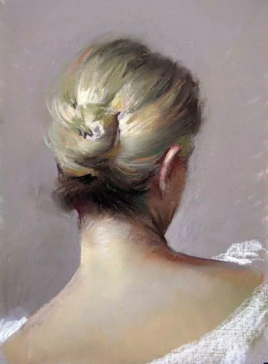 粉彩之美,西班牙艺术家桑塔曼斯的绘画作品插图38