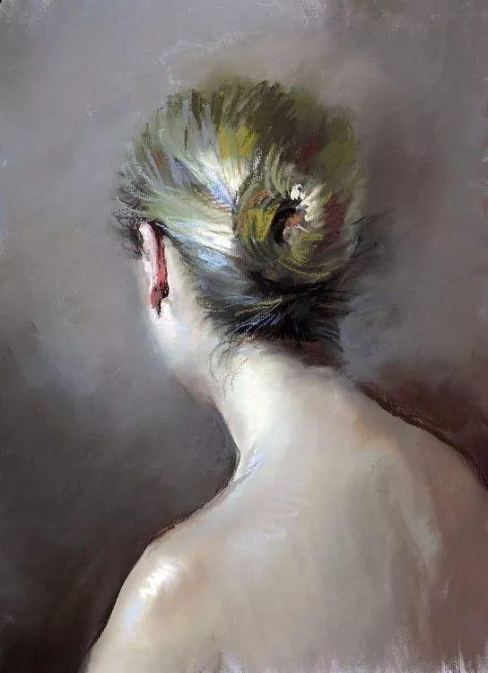 粉彩之美,西班牙艺术家桑塔曼斯的绘画作品插图39