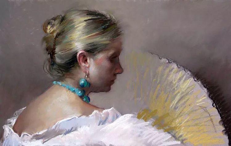 粉彩之美,西班牙艺术家桑塔曼斯的绘画作品插图40