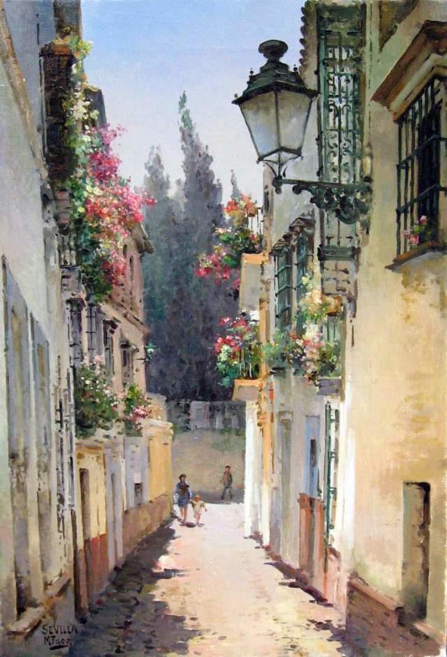 粉彩之美,西班牙艺术家桑塔曼斯的绘画作品插图41