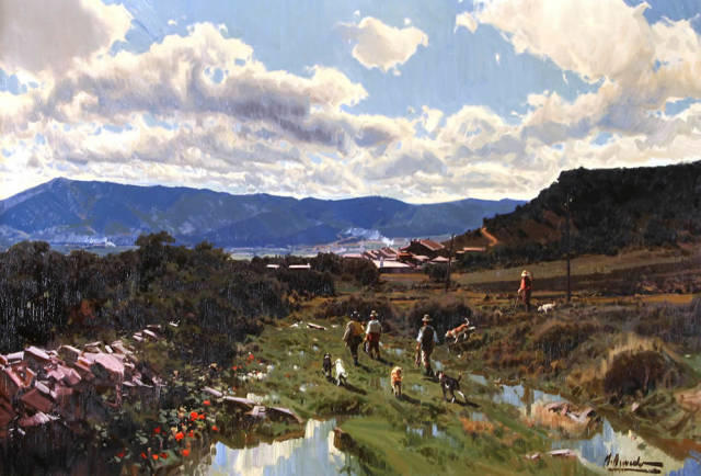 粉彩之美,西班牙艺术家桑塔曼斯的绘画作品插图42