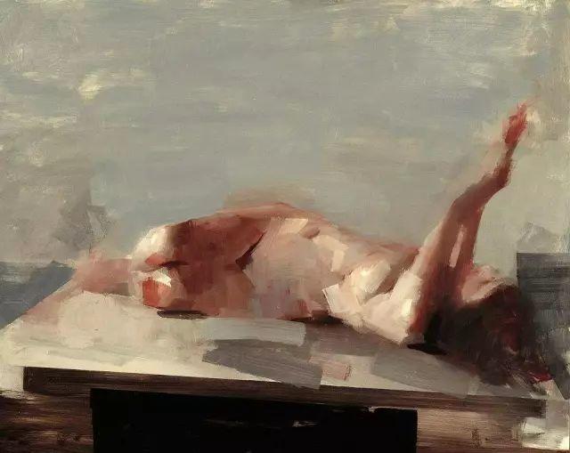 美国老教授用大色块、大笔触描绘的人体,生猛劲爽!插图7