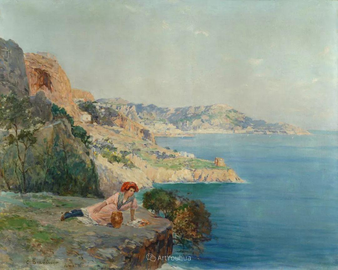 意大利画家卡洛·布兰卡乔作品欣赏插图