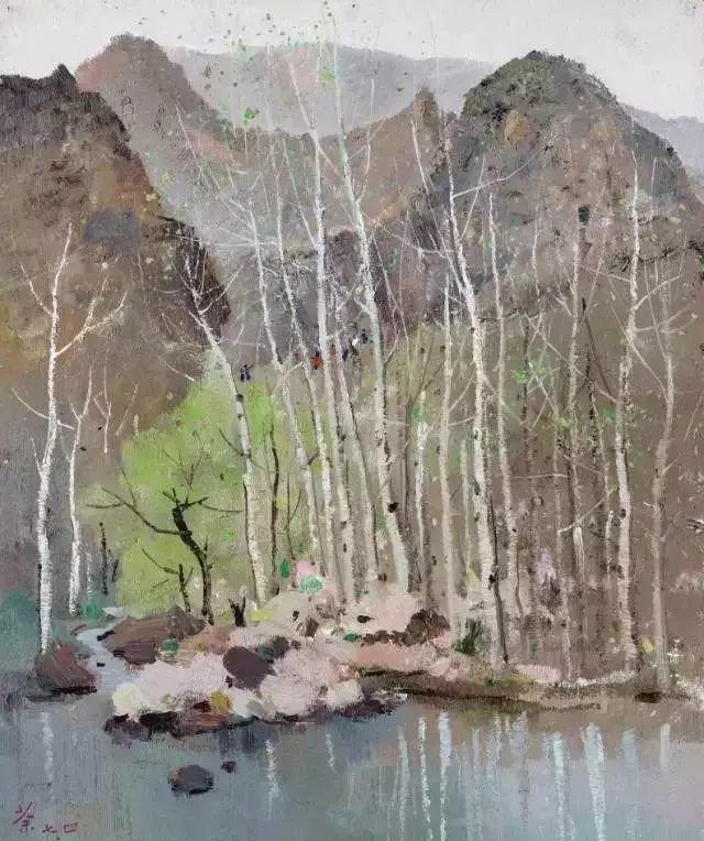 吴冠中笔下最贵20幅风景画,最后一幅至今无人超越插图5