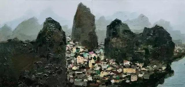 吴冠中笔下最贵20幅风景画,最后一幅至今无人超越插图9