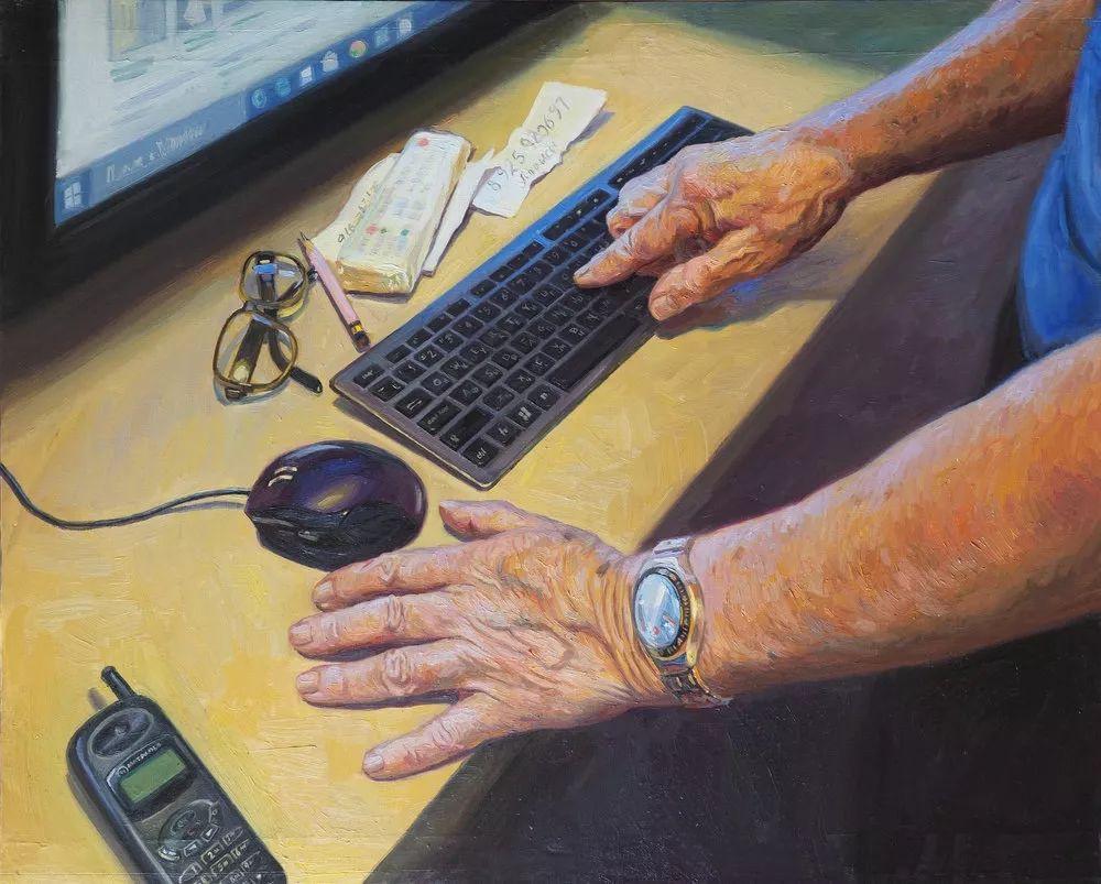 90后姑娘用画笔给你新的视觉刺激插图40