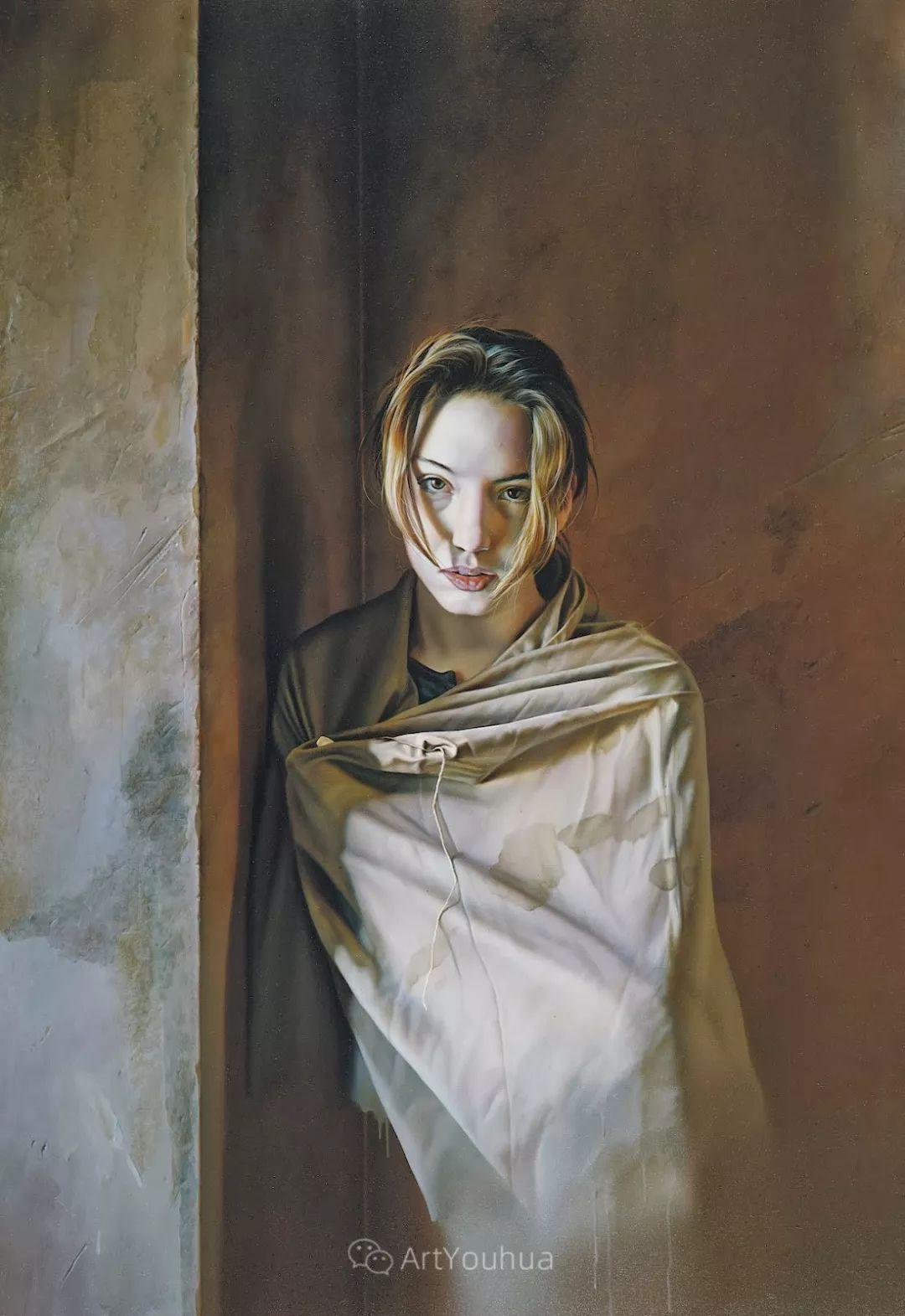 他以细腻的画风享誉国际画坛,笔下的女性大多涩苦幽情插图5