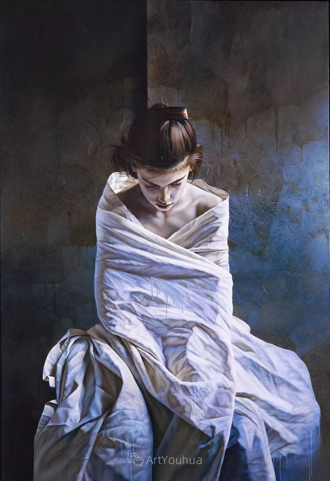他以细腻的画风享誉国际画坛,笔下的女性大多涩苦幽情插图7