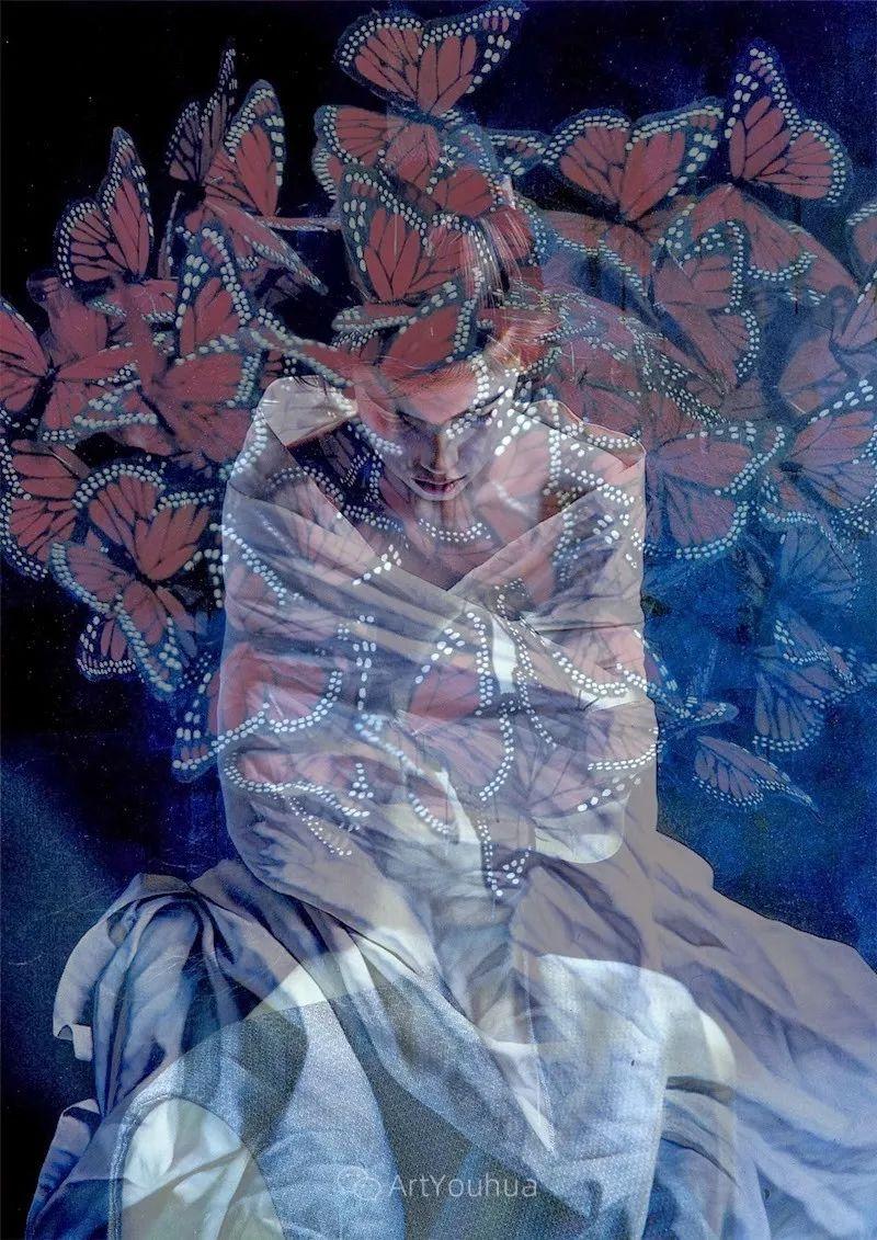 他以细腻的画风享誉国际画坛,笔下的女性大多涩苦幽情插图16