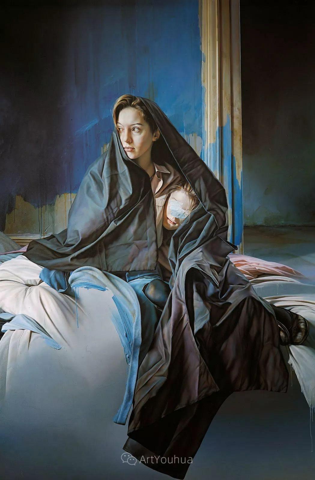 他以细腻的画风享誉国际画坛,笔下的女性大多涩苦幽情插图21