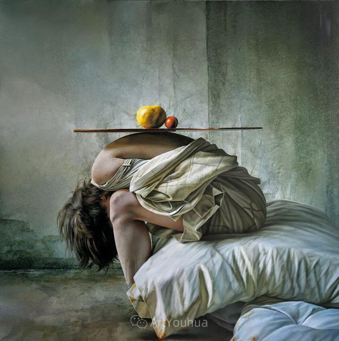 他以细腻的画风享誉国际画坛,笔下的女性大多涩苦幽情插图22