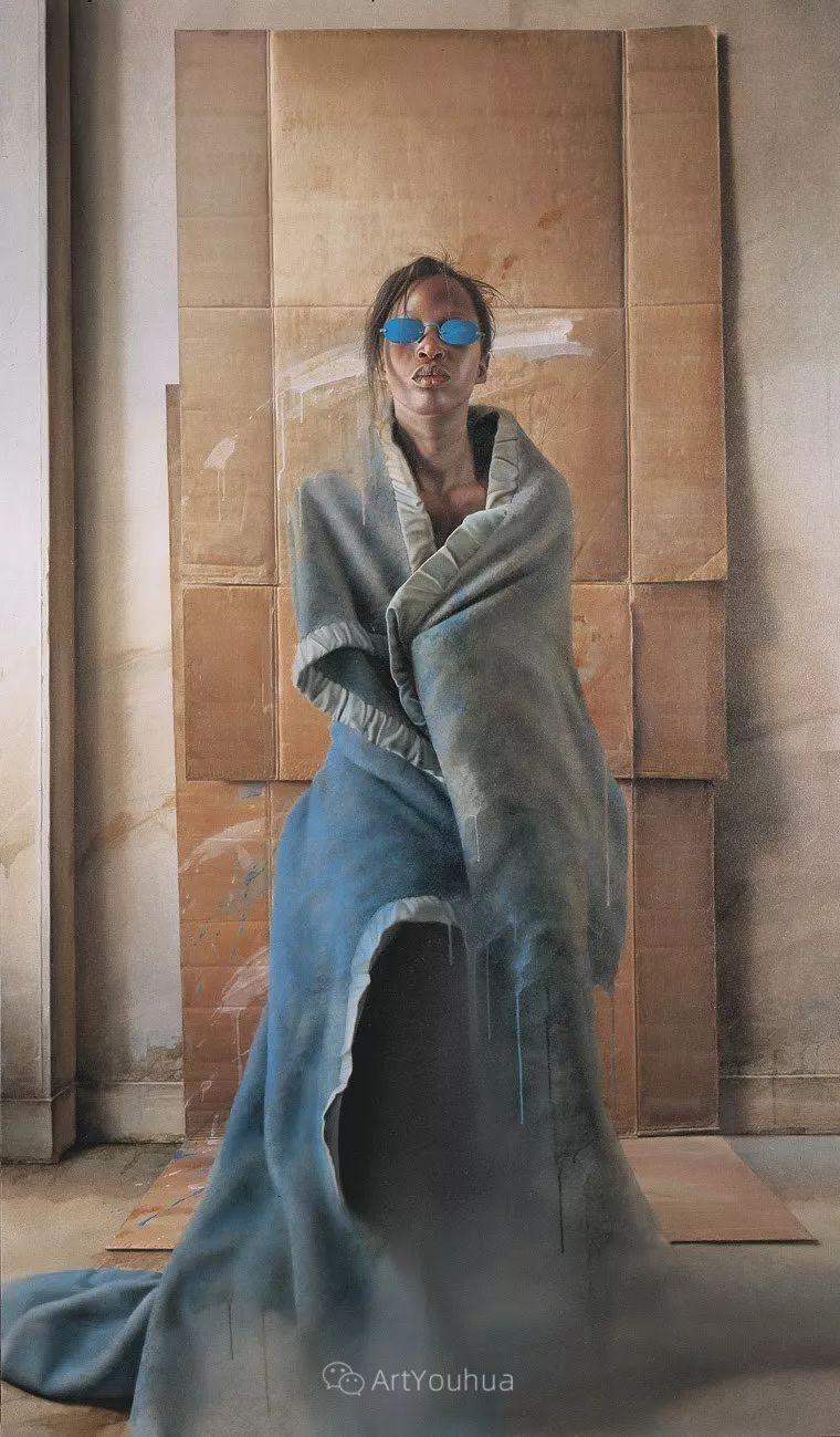 他以细腻的画风享誉国际画坛,笔下的女性大多涩苦幽情插图25