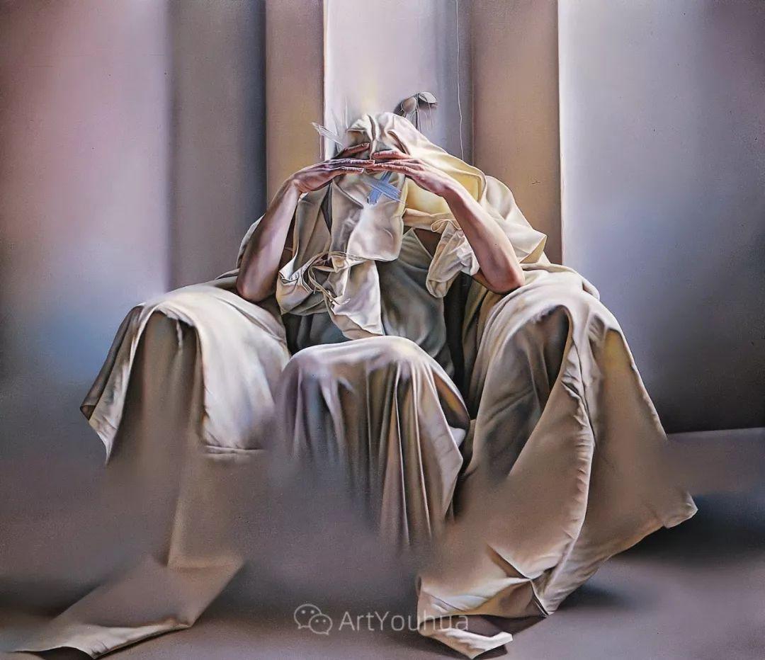 他以细腻的画风享誉国际画坛,笔下的女性大多涩苦幽情插图33