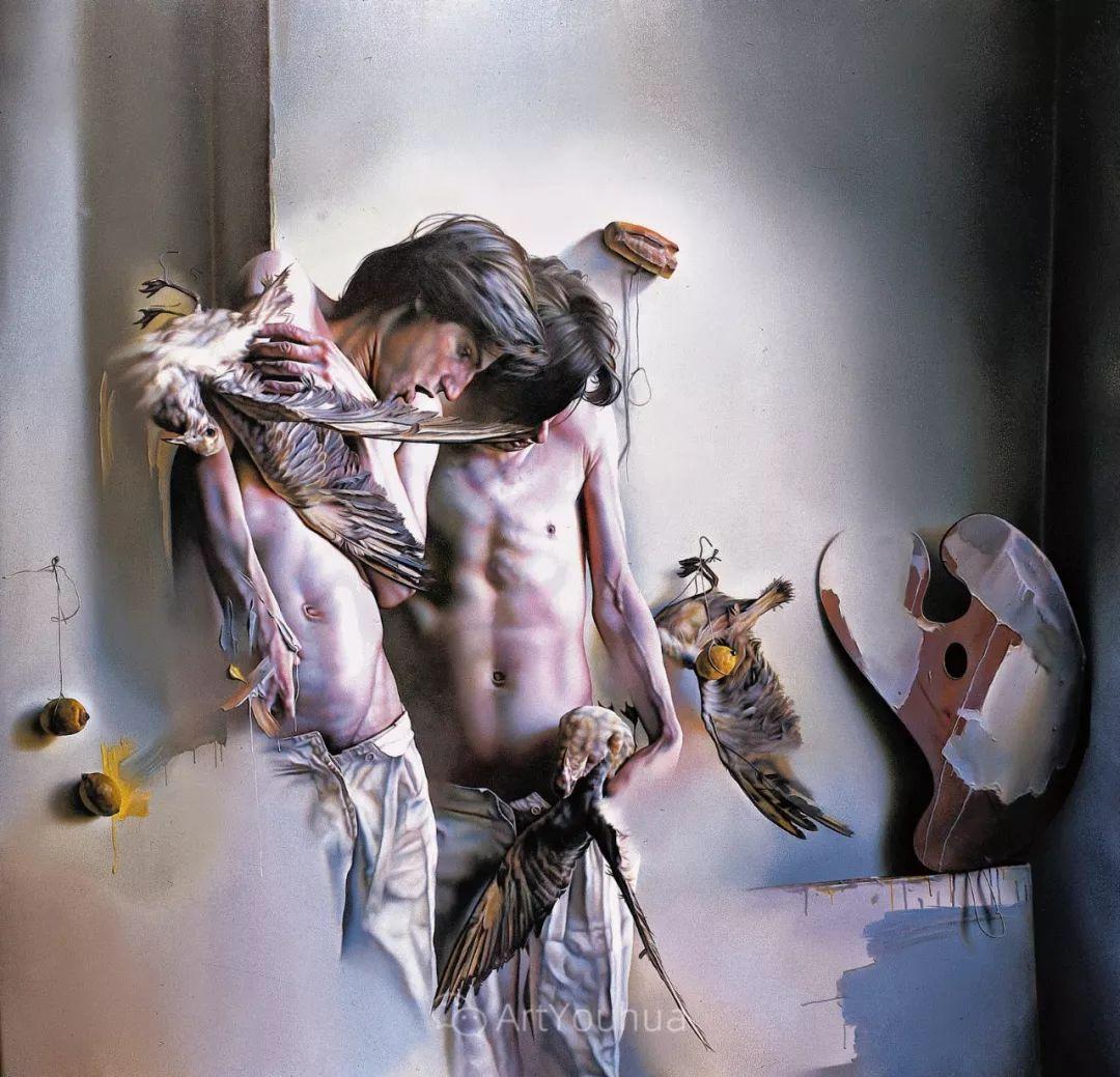 他以细腻的画风享誉国际画坛,笔下的女性大多涩苦幽情插图35