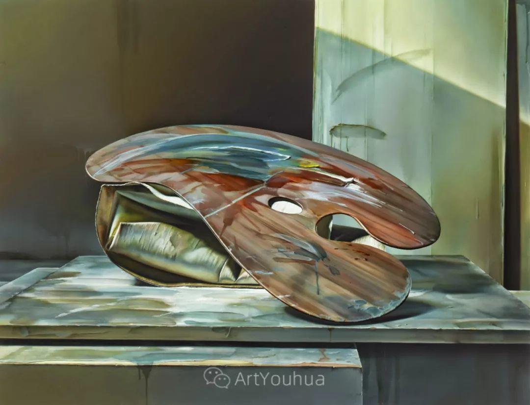 他以细腻的画风享誉国际画坛,笔下的女性大多涩苦幽情插图36