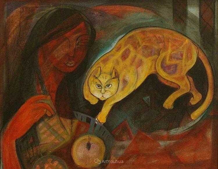 古老的神话 印度画家Poonam Chandrika Tyagi插图9