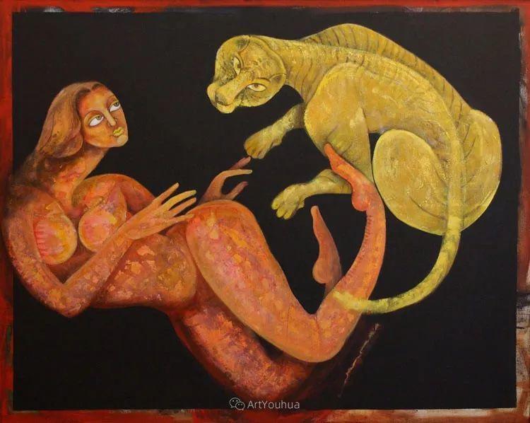 古老的神话 印度画家Poonam Chandrika Tyagi插图11