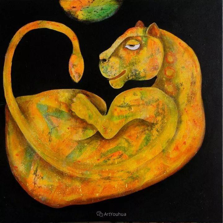 古老的神话 印度画家Poonam Chandrika Tyagi插图25