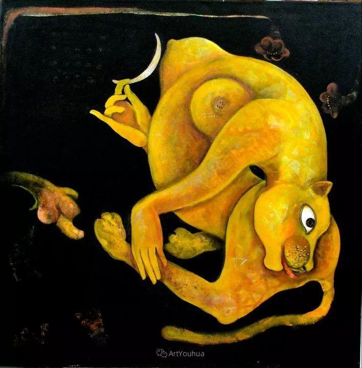 古老的神话 印度画家Poonam Chandrika Tyagi插图27
