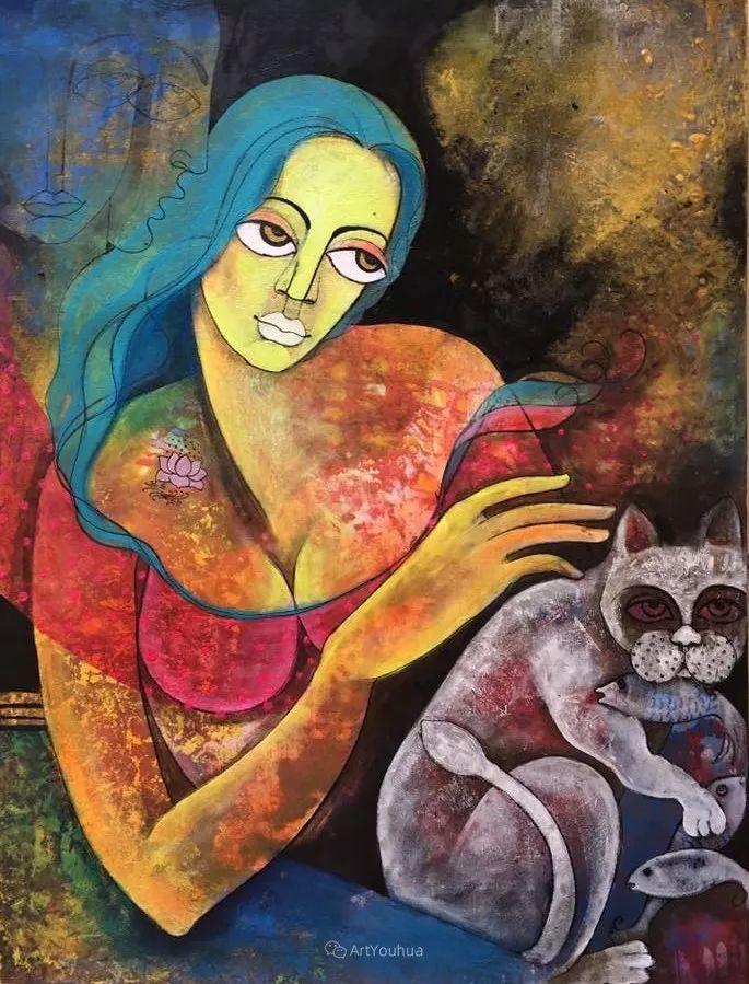 古老的神话 印度画家Poonam Chandrika Tyagi插图31