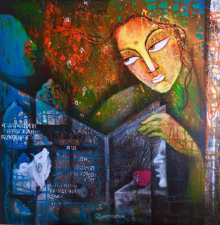 古老的神话 印度画家Poonam Chandrika Tyagi插图33