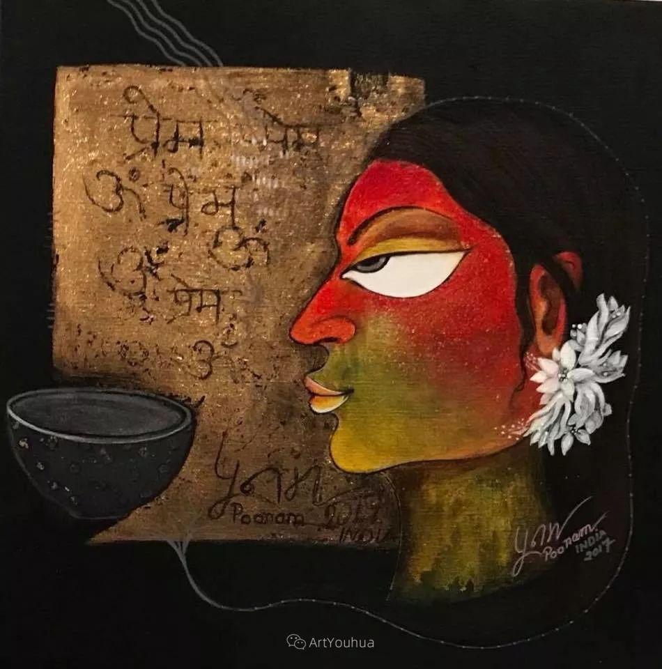 古老的神话 印度画家Poonam Chandrika Tyagi插图35