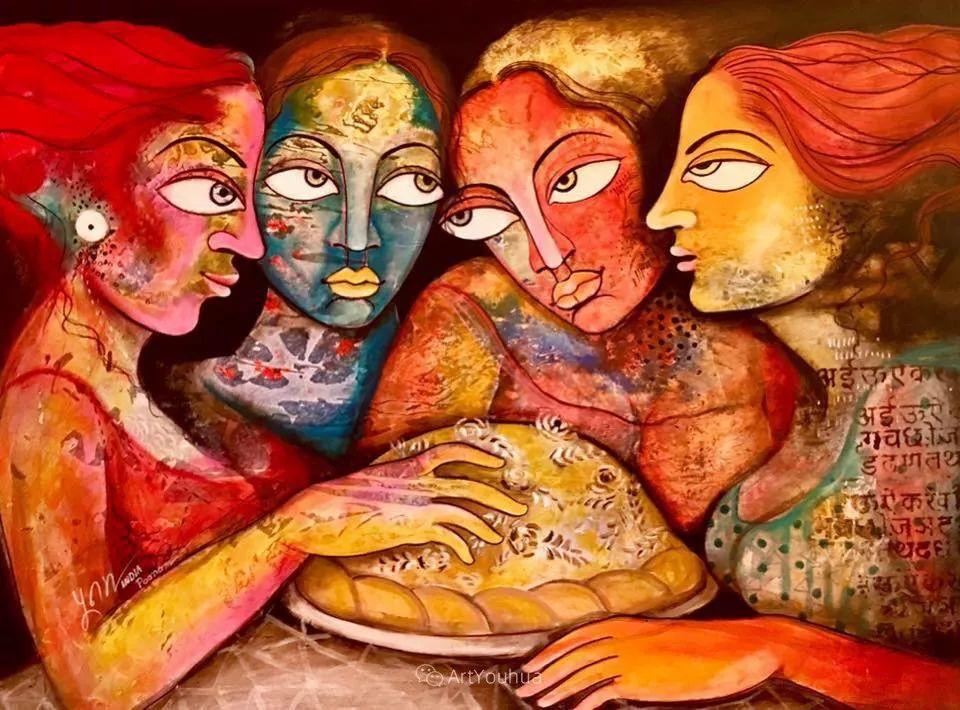 古老的神话 印度画家Poonam Chandrika Tyagi插图37