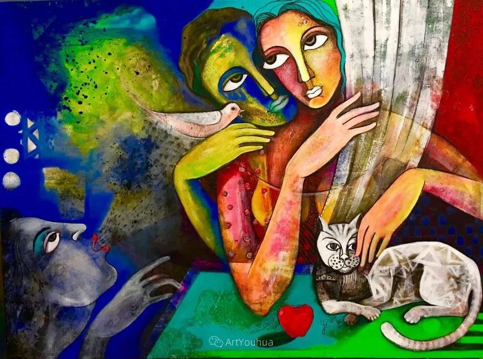 古老的神话 印度画家Poonam Chandrika Tyagi插图39