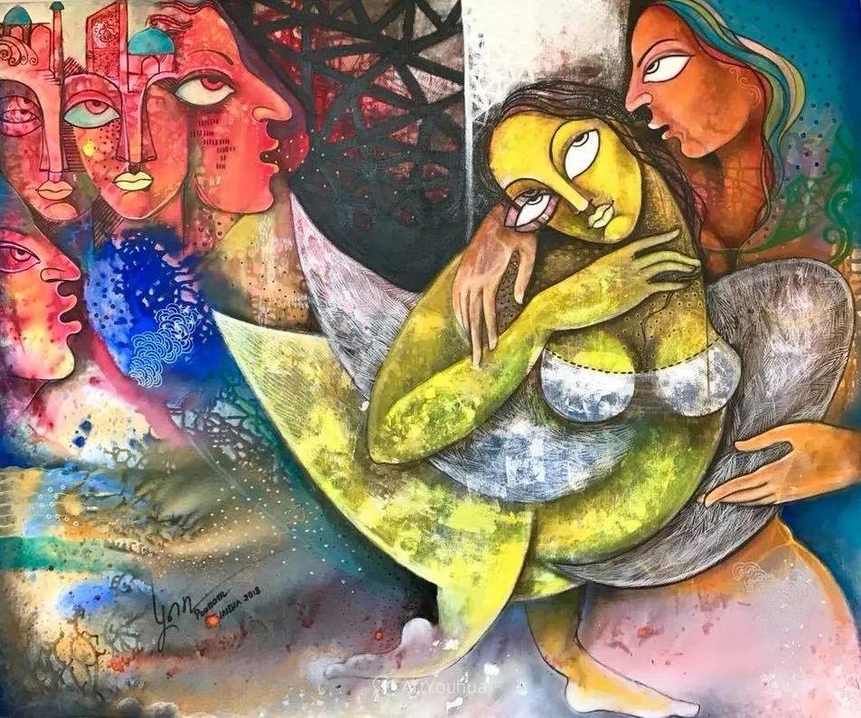 古老的神话 印度画家Poonam Chandrika Tyagi插图41