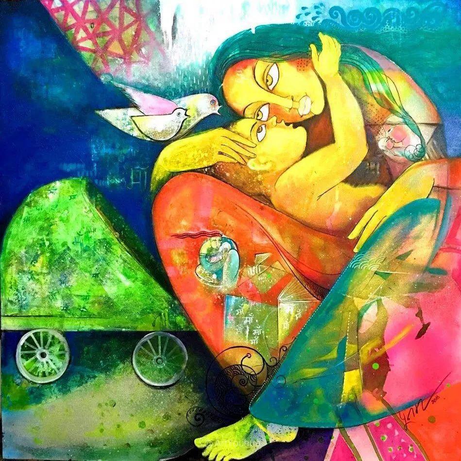 古老的神话 印度画家Poonam Chandrika Tyagi插图43