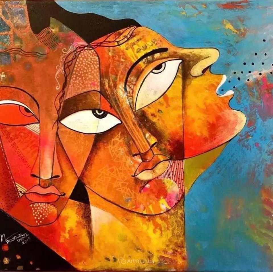 古老的神话 印度画家Poonam Chandrika Tyagi插图45