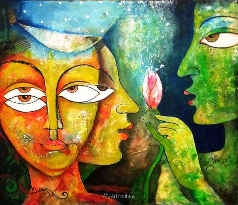 古老的神话 印度画家Poonam Chandrika Tyagi插图49