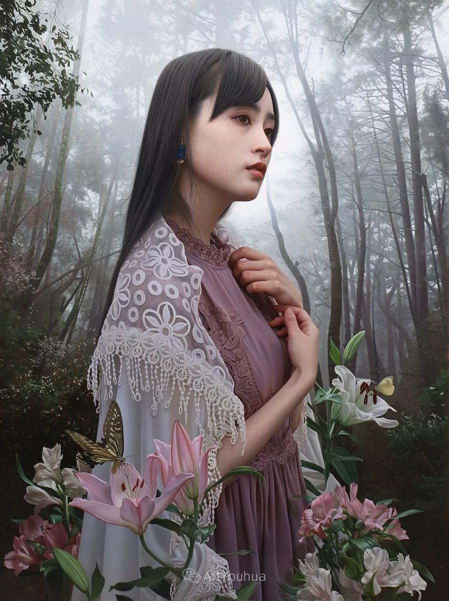 女性的气质美,极致的温柔与梦幻般的意境插图9