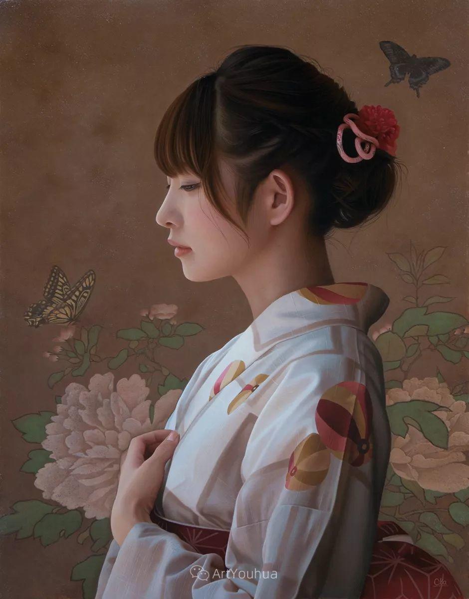 女性的气质美,极致的温柔与梦幻般的意境插图19