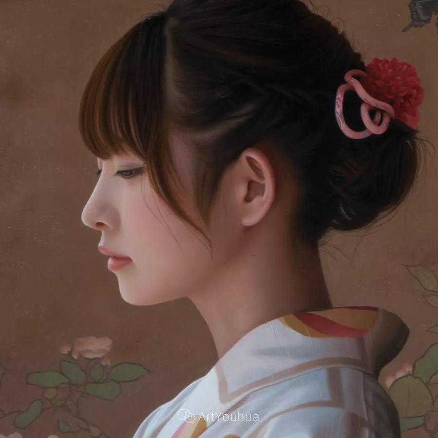 女性的气质美,极致的温柔与梦幻般的意境插图21