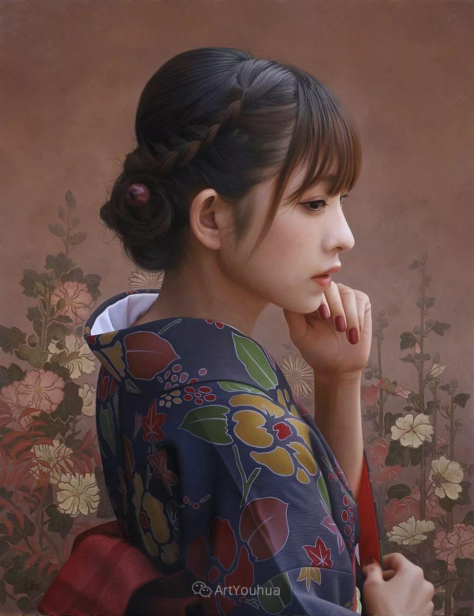 女性的气质美,极致的温柔与梦幻般的意境插图31