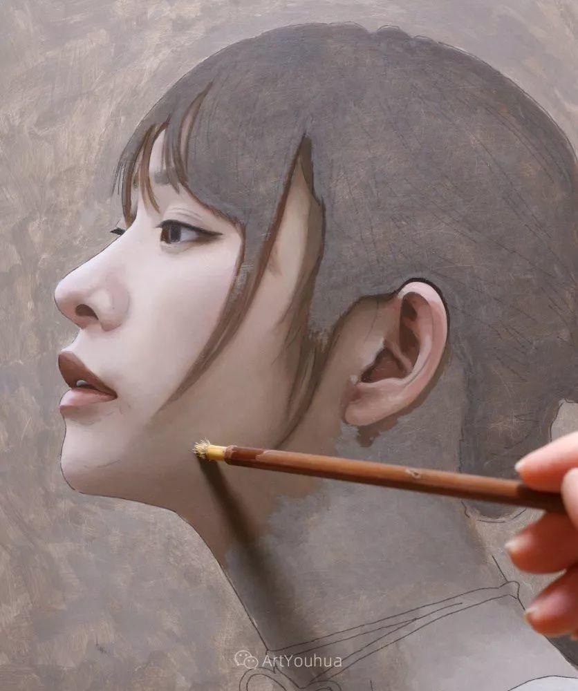 女性的气质美,极致的温柔与梦幻般的意境插图45