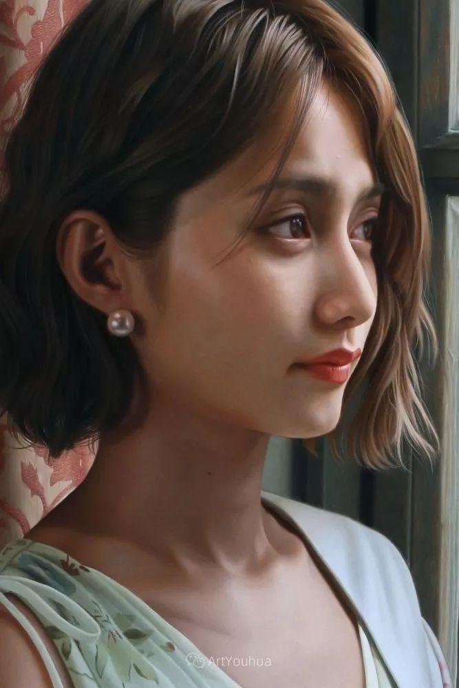 女性的气质美,极致的温柔与梦幻般的意境插图77