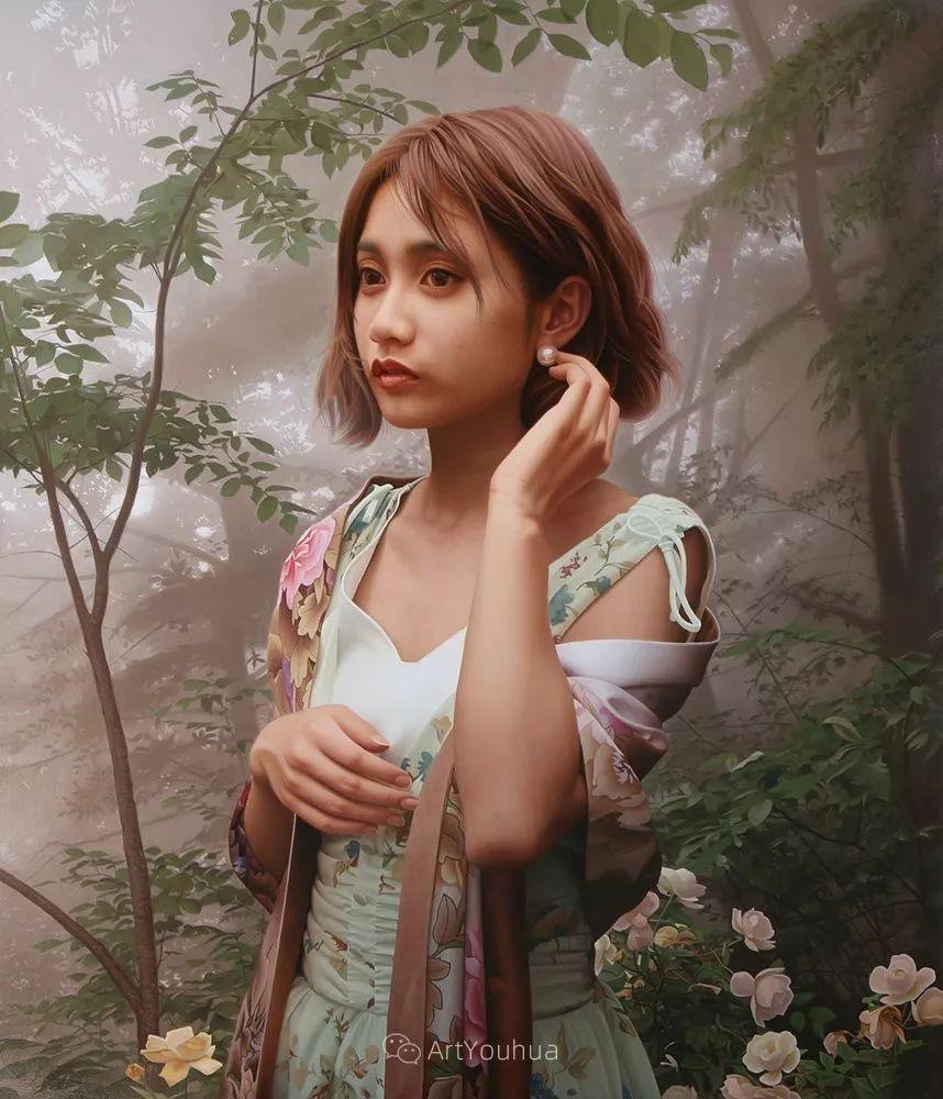 女性的气质美,极致的温柔与梦幻般的意境插图139