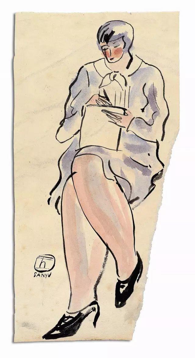 常玉:孤独的大师,一生在黑暗的小屋中,绝笔作品被拍出近2亿天价插图44