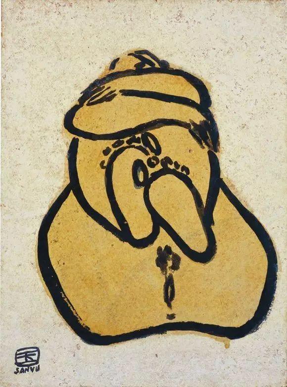 常玉:孤独的大师,一生在黑暗的小屋中,绝笔作品被拍出近2亿天价插图62