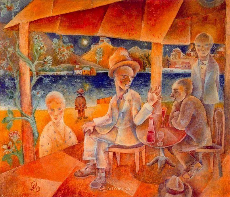 20世纪早期的欧洲现代主义者——阿尔伯特·布洛赫插图