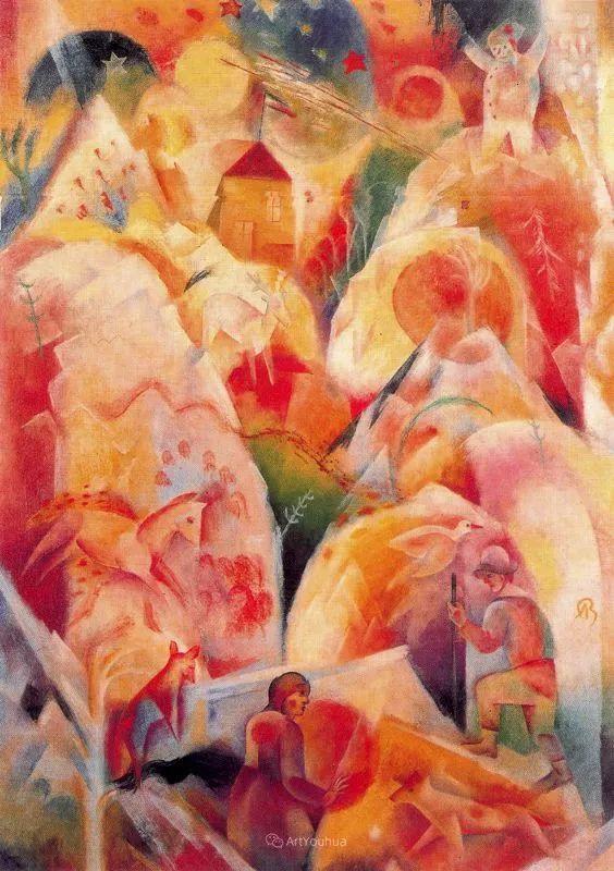 20世纪早期的欧洲现代主义者——阿尔伯特·布洛赫插图30