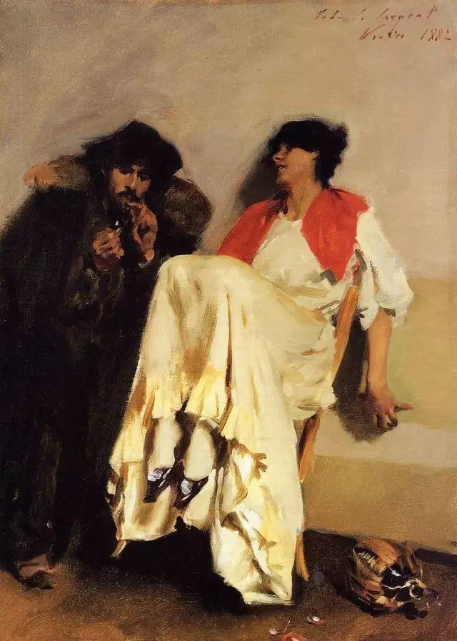 萨金特、索罗亚、佐恩——三位19世纪现代印象派大师插图22