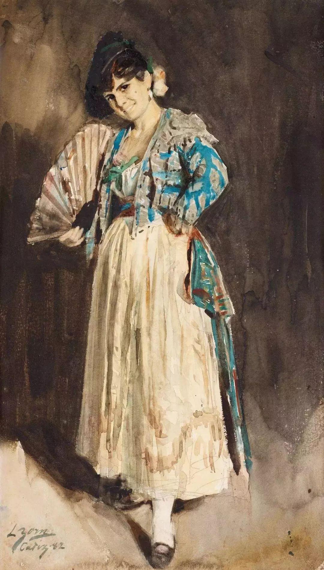 萨金特、索罗亚、佐恩——三位19世纪现代印象派大师插图61