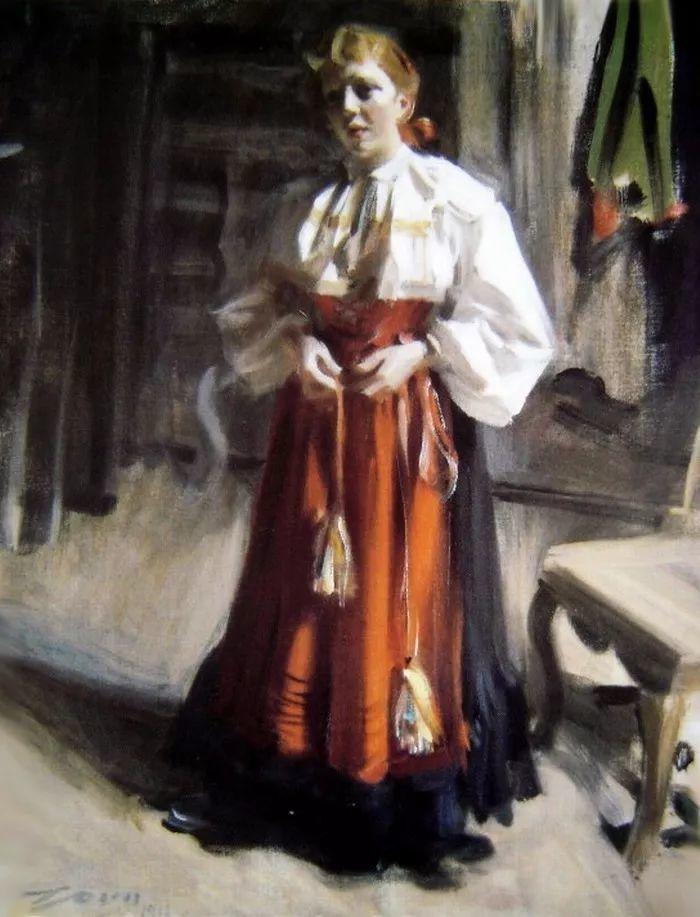 萨金特、索罗亚、佐恩——三位19世纪现代印象派大师插图63