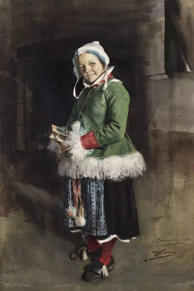 萨金特、索罗亚、佐恩——三位19世纪现代印象派大师插图67