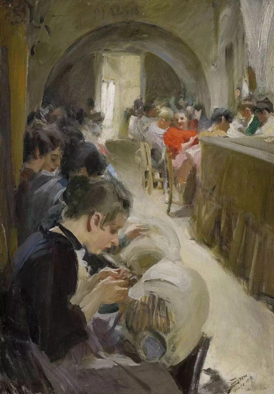萨金特、索罗亚、佐恩——三位19世纪现代印象派大师插图68
