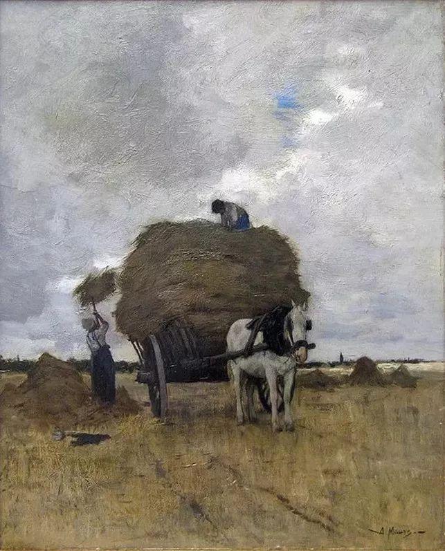 梵高表妹夫——安东·莫夫油画作品欣赏插图5